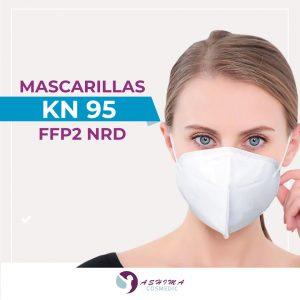 Mascarilla KN95 FFP2